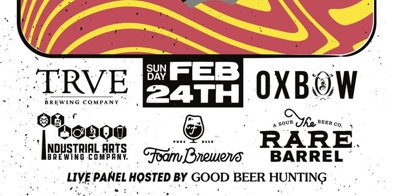 Check out NYC Beer Week Foam/Industrial Arts/Oxbow/Rare Barrel/TRVE